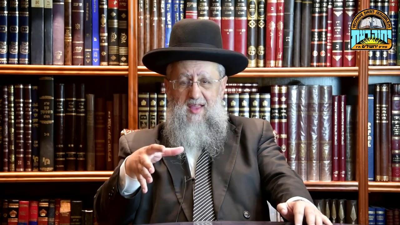 Rabbi David Yossef   Parashat Ki Tetze  Proper Direction in Life!