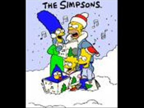The Simpsons - Rudolf the red nose reindeer