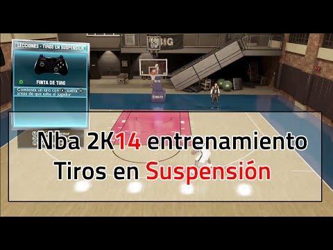 Nba 2k14: Tiros en suspensión