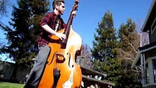 bass fiddle slappin