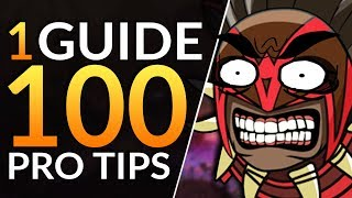 1 Guide: 100 TIPS - Coach Reveals the TOP Mistakes You MUST STOP | Dota 2 Pro Ranked Guide