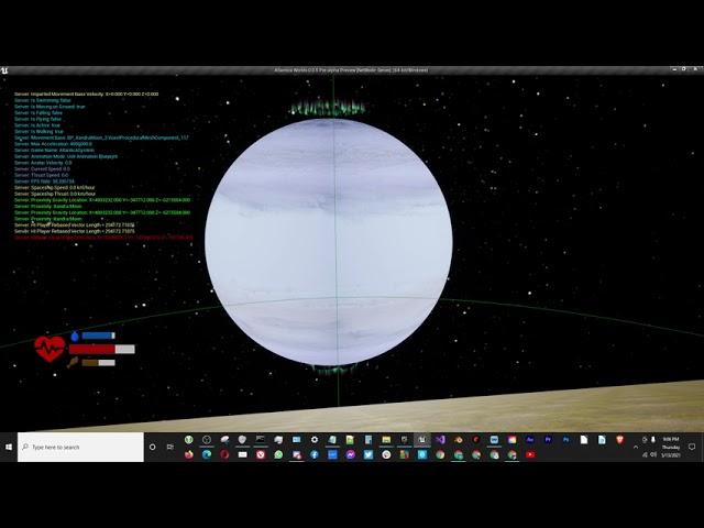 Gas Giant Planet Aloysia Update - Part 1