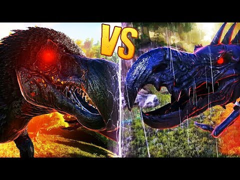 PRIMAL DINOSAURS FIGHT TO THE DEATH | Ark: Survival Evolved Dinosaur Battles