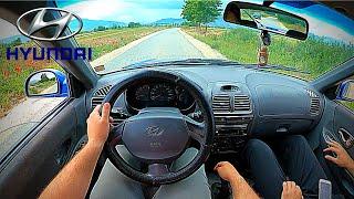 Hyundai Accent 1.5i (2002) - POV Drive