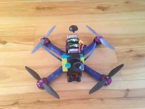 Tc-R260 Race Kwad (Drone) Build/Rebuild