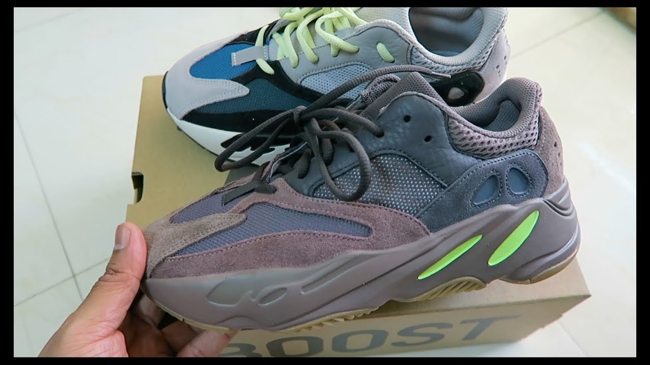 first rate f5ea1 3dd88 #Yeezy700 Should You Buy The Yeezy Boost 700 Mauve - Compared With OG  Waverunner & On Feet Review