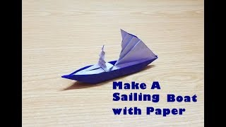 How to Create an awesome Origami Sailing Boat easily