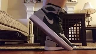 bfcb5a3c4171ba Air Jordan 1 Retro High Shadow Flyknit On Feet Review!