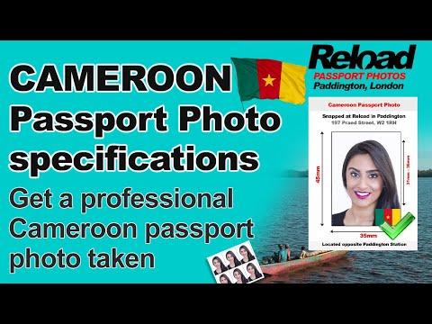 Cameroon Passport Photo and Visa Photo requirements