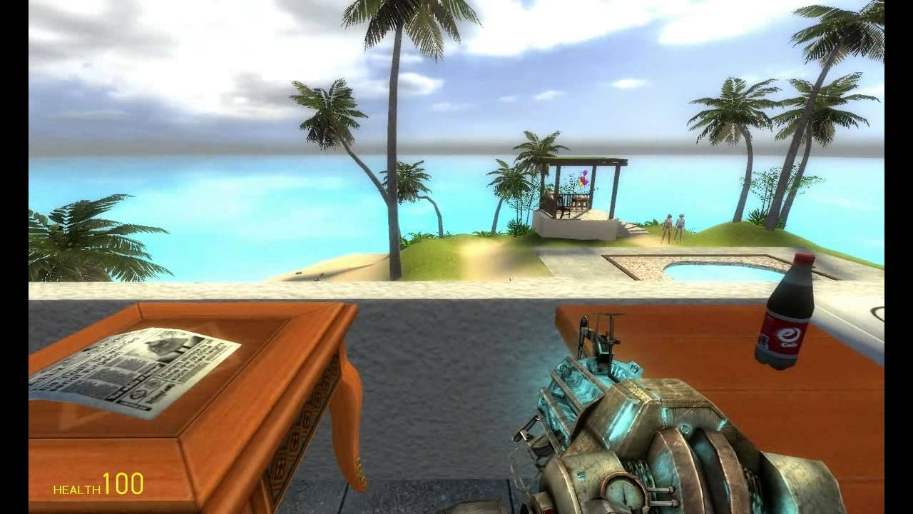Gmod beach house