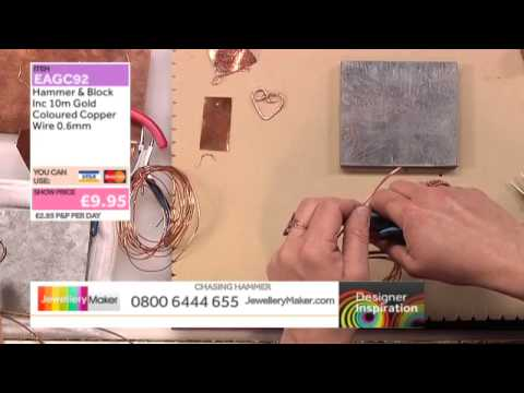 How to Make Raw Copper Jewellery [Tutorial]: Jewellery Maker DI 4/6/14
