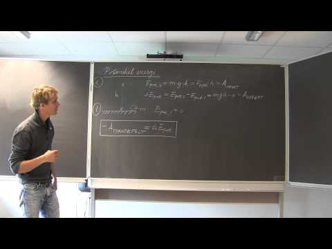 FysikA - Gravitation, arbejde, potentiel energi