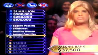 Mariposa County  Who wants to be a Millionaire  ? question
