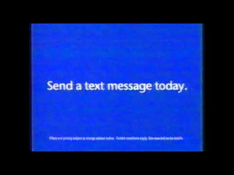 "Bell Mobility ""Send a Text"" commercial (2003)"