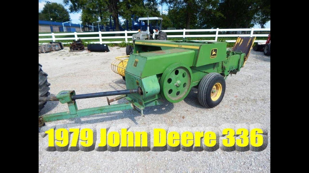 SOLD: 1979 John Deere 336 Square Baler