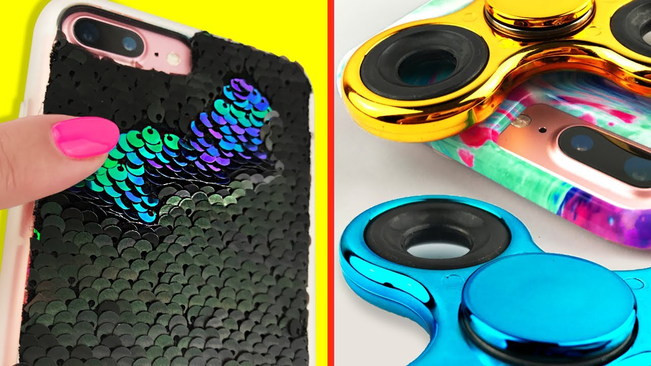 DIY PHONE CASES  4 VIRAL Phone Cases You NEED To Try