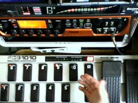fcb1010 eleven rack programmation behringer 002 pedal youtube. Black Bedroom Furniture Sets. Home Design Ideas