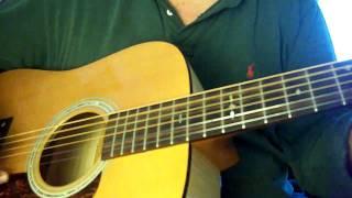 """Take Me Home Precious Jesus"" on  6 String Acoustic Guitar"