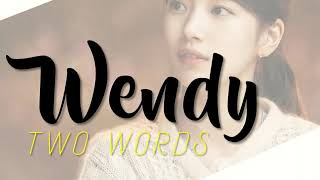 Download [MR-Removed/Acapella] RED VELVET 웬디 (WENDY) - 두 글자 (Two Words)
