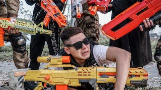 LTT Game Nerf War : Warriors SEAL X Nerf Guns Fight Crime group Braum Crazy Manufactured Weapons