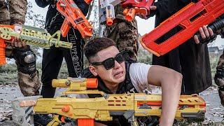 LTT Game Nerf War : Warriors SEAL X Nerf Guns Fight Crime group Braum Crazy Manufactured Weapons
