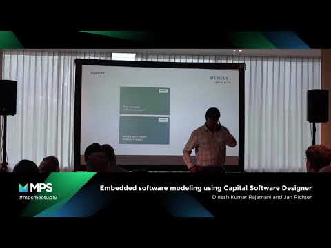 MPS Community Meetup 2019 - Embedded Software Modeling Using Capital Software Designer
