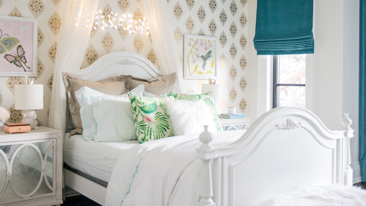 Room Tour: Two Dreamy Little Girlsu0027 Bedrooms