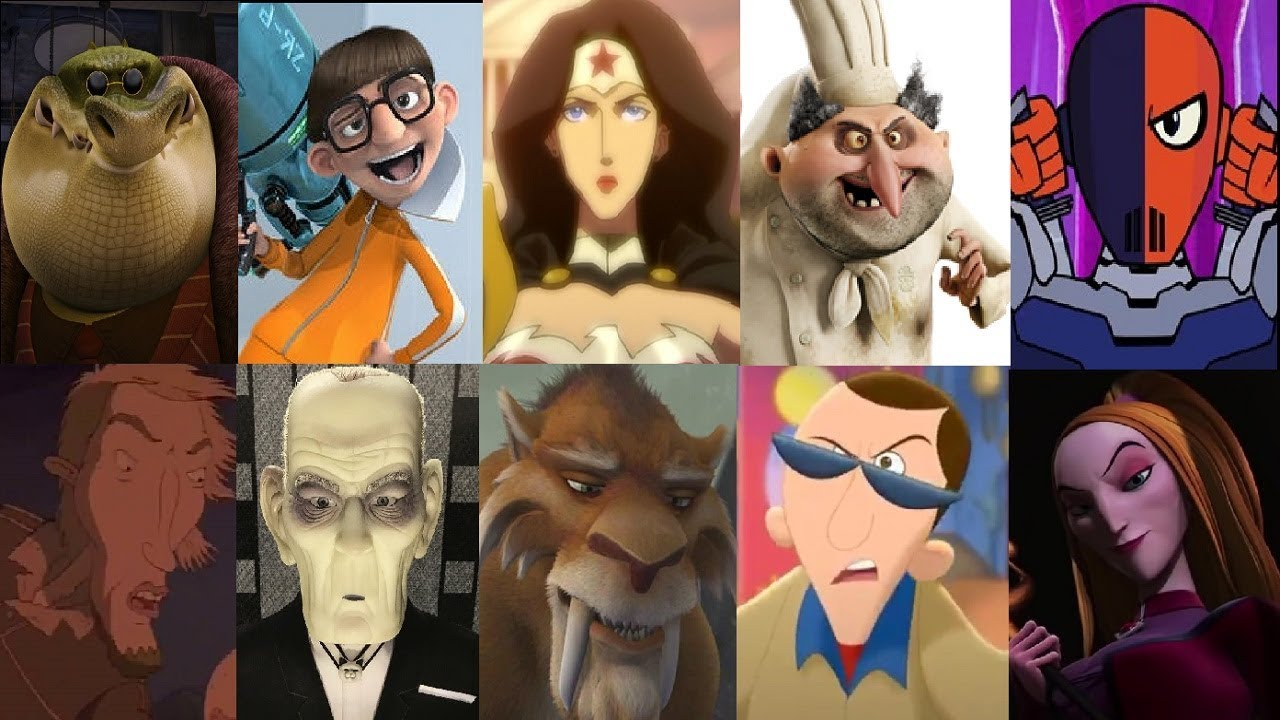 Defeats Of My Favorite Animated Non Disney Villains Part 22
