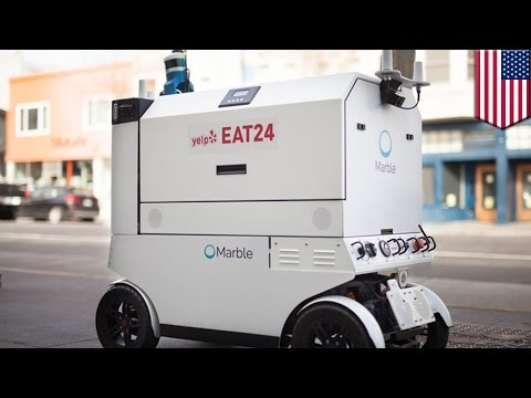 Robot food deliveries are hitting the streets of San Francisco - TomoNews