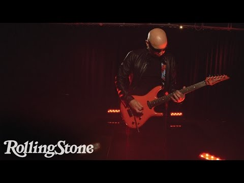 Joe Satriani Interprets Words and Subjects on His Guitar