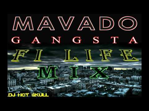 Mavado Gangsta Fi Life Mix - 2017 - DJ Hot Skull