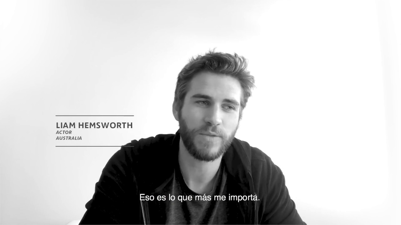 "Liam Hemsworth: ""ACCIONA invests in our future by investing in our planet"""