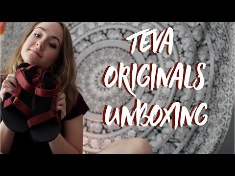 teva originals unboxing // erica a l