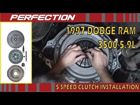 Dodge Ram 1997 5.9L NV4500 5 Speed Clutch Installation ...