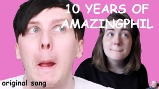 10 YEARS OF AMAZINGPHIL | original song