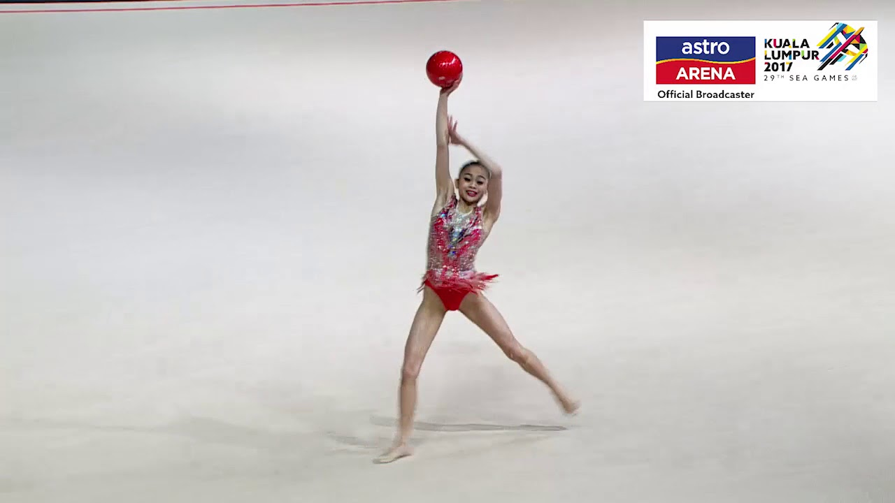 Izzah Amzan Emas Gimnastik Final Apparatus Individu