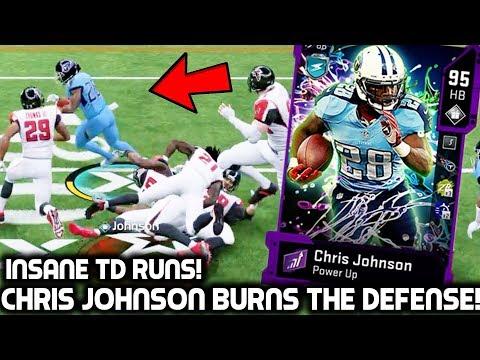 CHRIS JOHNSON BURNS THE DEFENSE! FASTEST RUNNING BACK IN THE GAME! Madden 20 Ultimate Team