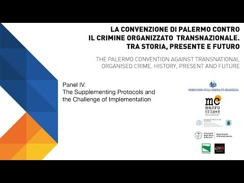 The Palermo convention against transnational organized crime 2003-2018 | Panel IV