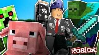 MINECRAFT IN ROBLOX Roblox in Spanish