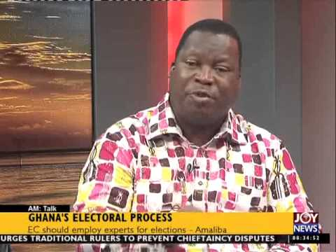 Ghana Electoral Process -  AM Talk on Joy News (19-6-15)