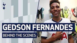 BEHIND THE SCENES | GEDSON FERNANDES SIGNS FOR SPURS
