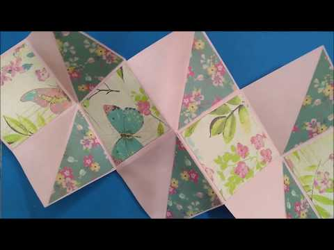 DIY Squash card tutorial