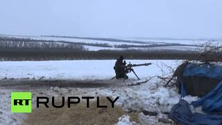 Ukraine: DNR fighters hold positions near village of Telmanovo
