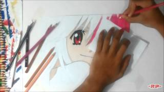 -RP- Drawing Lucy/Nyu (Elfen Lied) [1080p]