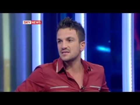 Sad Peter Andre Ends Live TV Interview.flv