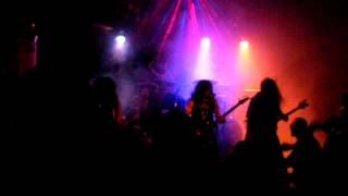 Sadistic Intent   Untimely End + Condemned In Misery  Live Blue Rose Saloon Milano 12 09 2012