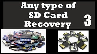 How to Recover files from Formatted SD Card- How to Recover deleted files from SD card FREE!