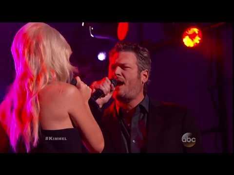 Blake Shelton Lonely Tonight ft. Ashley Monroe / Neon Light on Jimmy Kimmel Live!