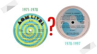 """Baixar Gravadora Som Livre: Selo em caracol/espiral ou o """"S"""" em azul com fundo branco???"""