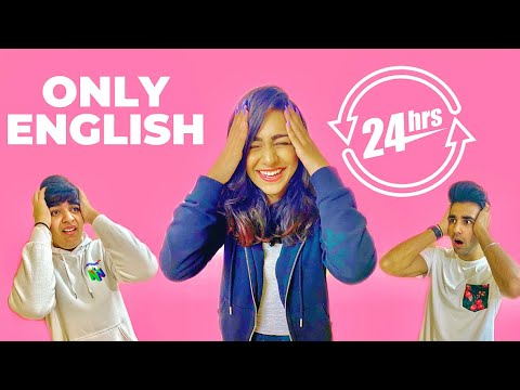SPEAKING ONLY ENGLISH for 24 Hours Challenge | Rimorav Vlogs